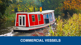 Commercial marine services link